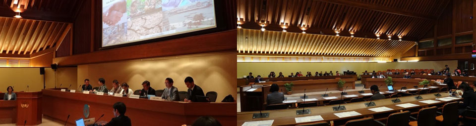 Report of the side event in Bangkok
